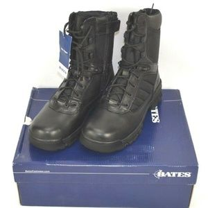 NEW Bates Tactical 8inch Side Zip Boots Womens 9.5